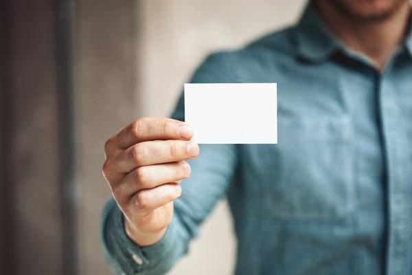 名刺の作り方