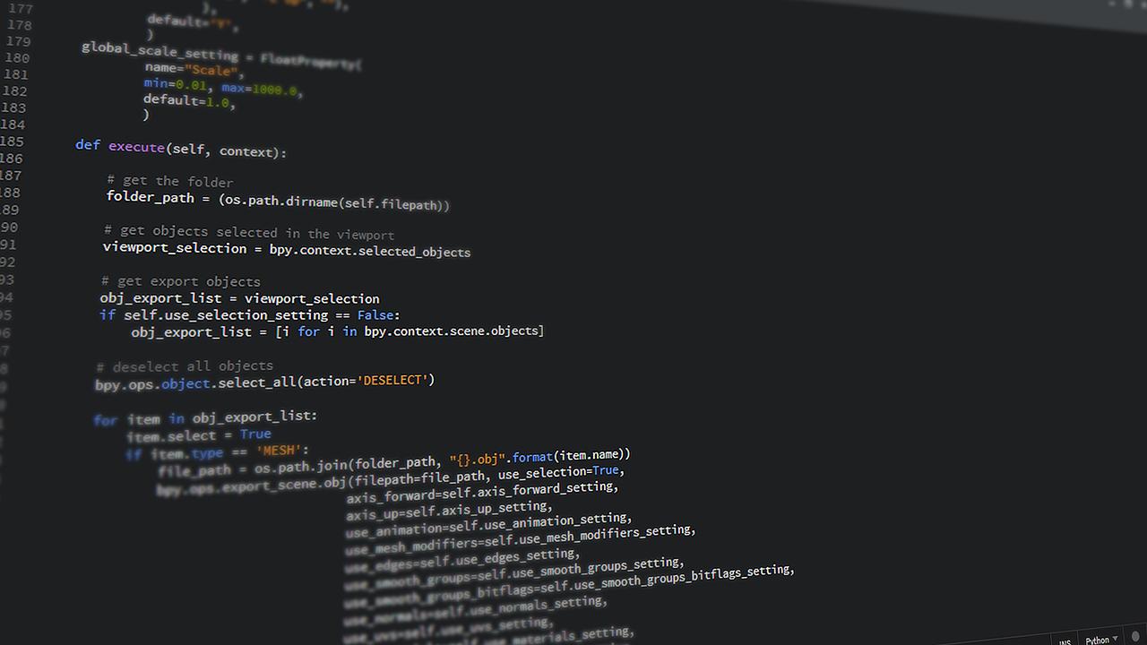 【初心者必見】注目の言語「Python」とは?特徴や活用事例を解説